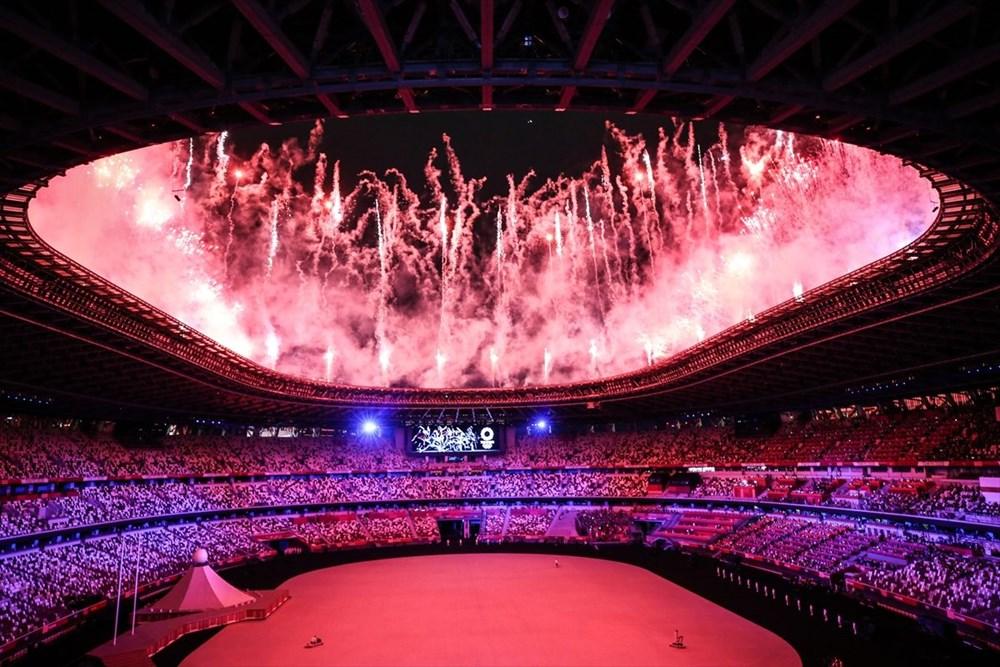 2020 Tokyo Olimpiyatları görkemli açılış töreniyle başladı - 50