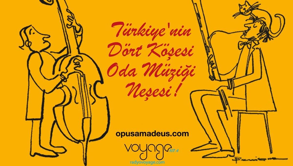 Opus Amadeus Oda Müziği Festivali kapsamında çevrim içi konserler