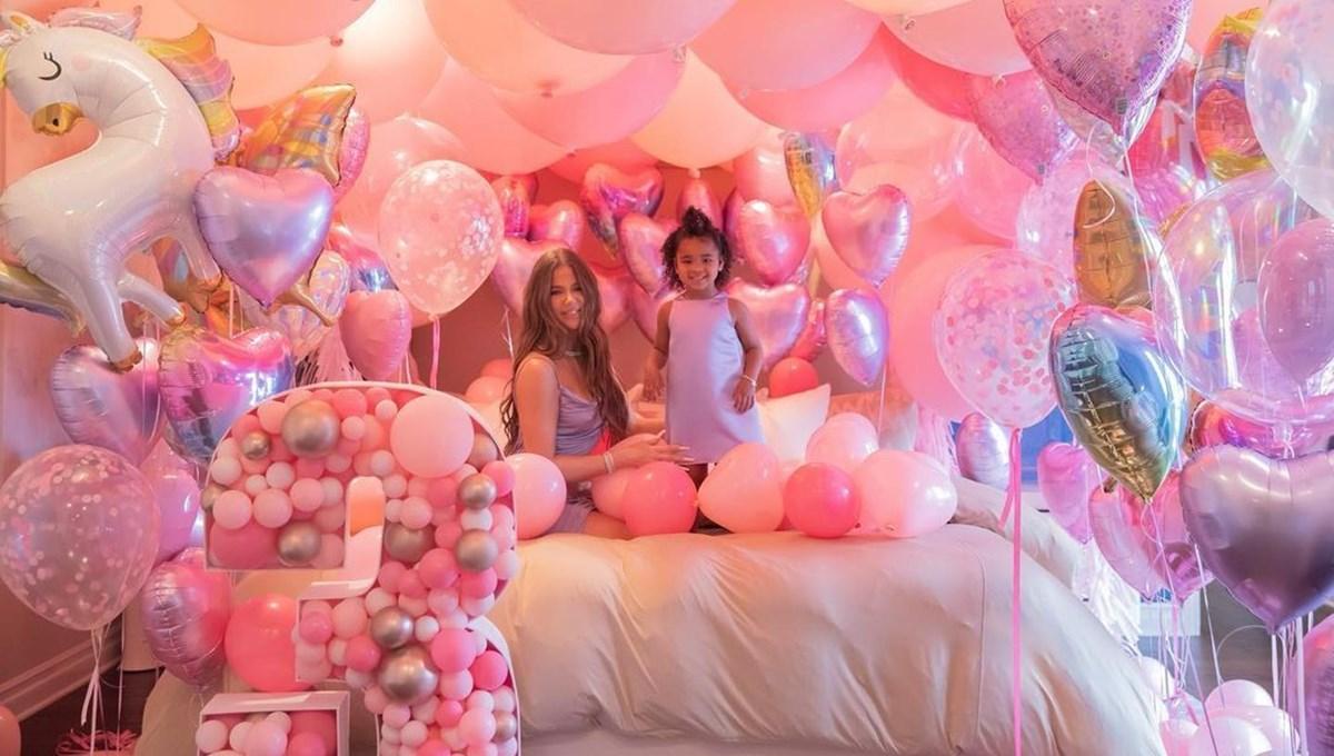 Khloe Kardashian'ın kızı True 3 yaşında