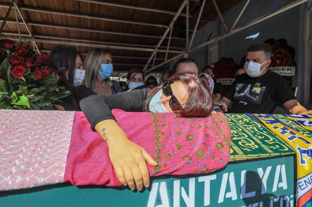 Sunucu Dilay Kemer son yolculuğuna uğurlandı - 9