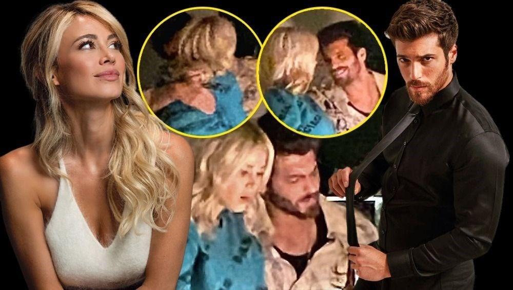 Can Yaman İtalyan spor spikeri Diletta Leotta ile ilişkisini fotoğrafla doğruladı - 1