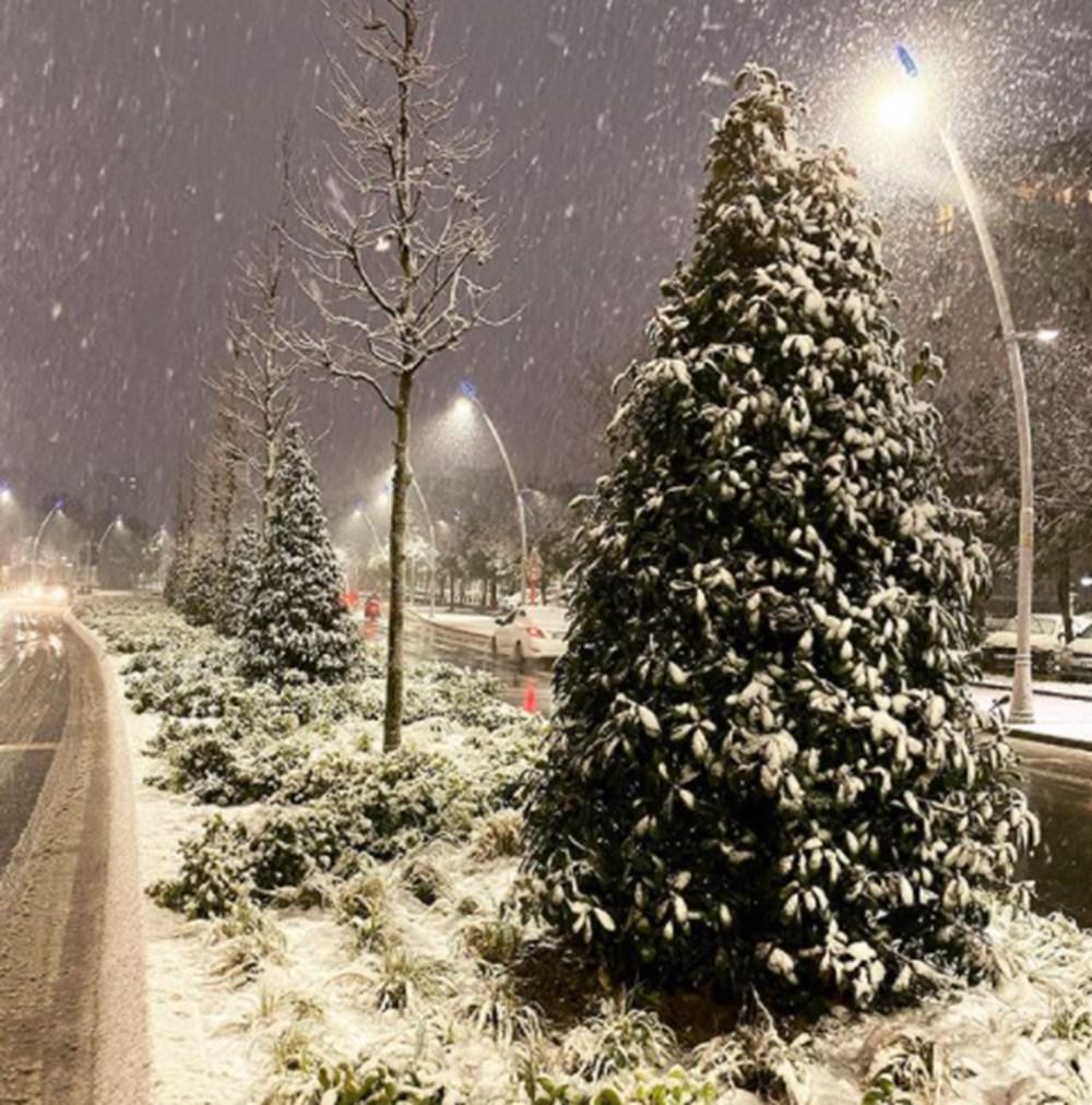 Ünlülerin kar sevinci - 7
