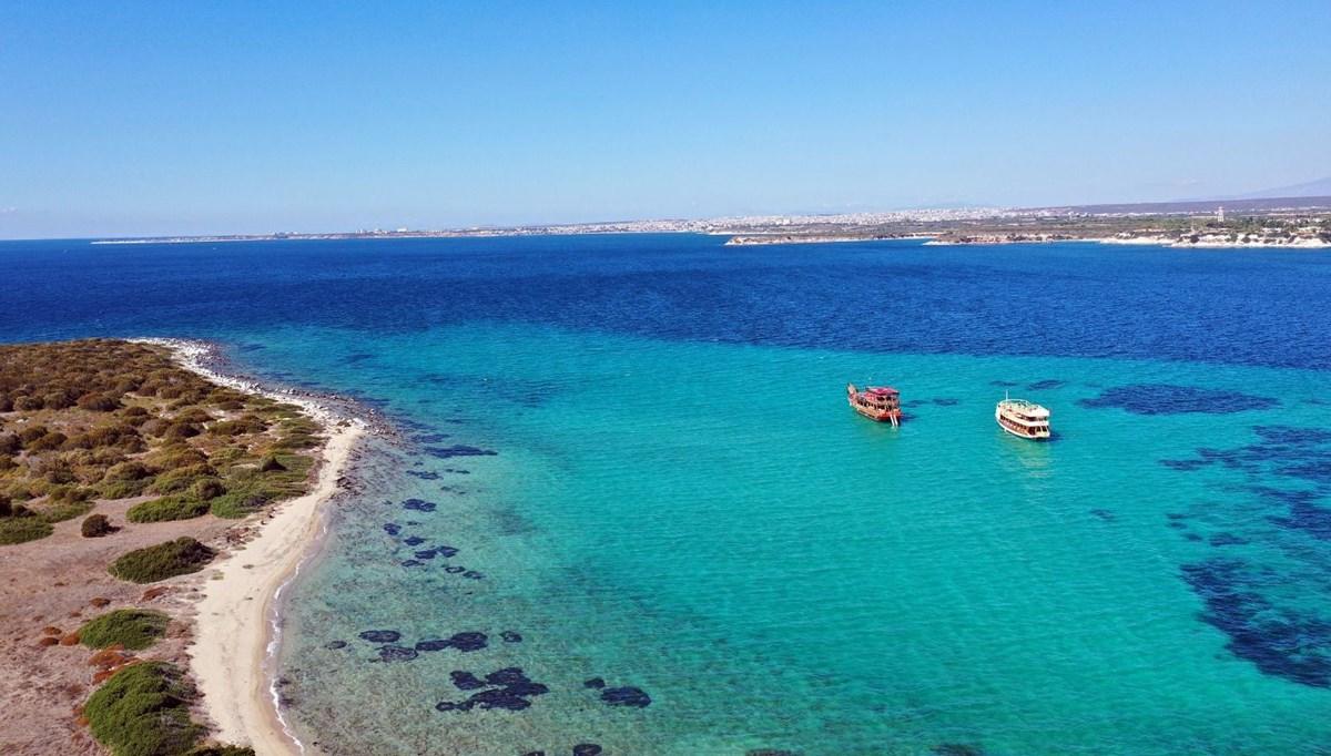 Aydın'da mavi ve yeşilin buluşma noktası: Panayır Adası