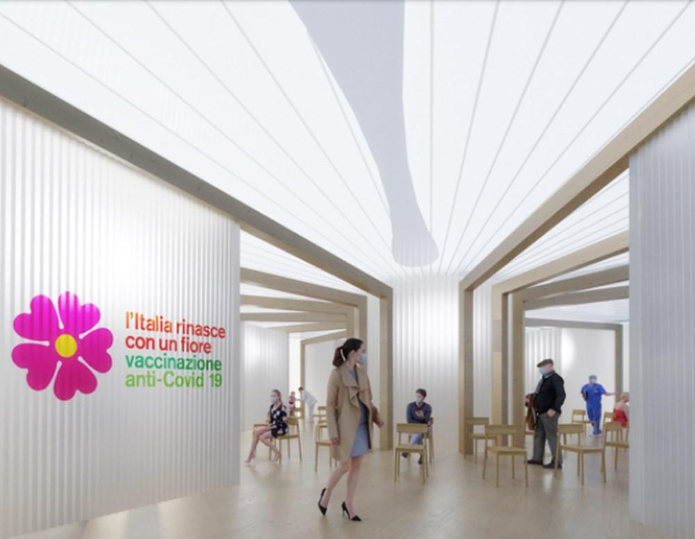 """İtalya'da """"halkın yenilenmesi""""ni simgeleyen aşı istasyonları kuruluyor - 7"""