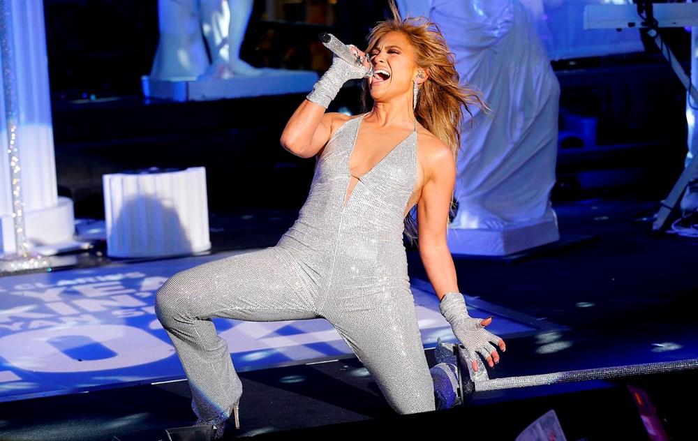 Yeni yıl kutlamasına Jennifer Lopez damgası - 8