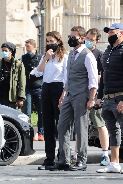 Tom Cruise'lu Görevimiz Tehlike 7 setinden yeni kareler - 8
