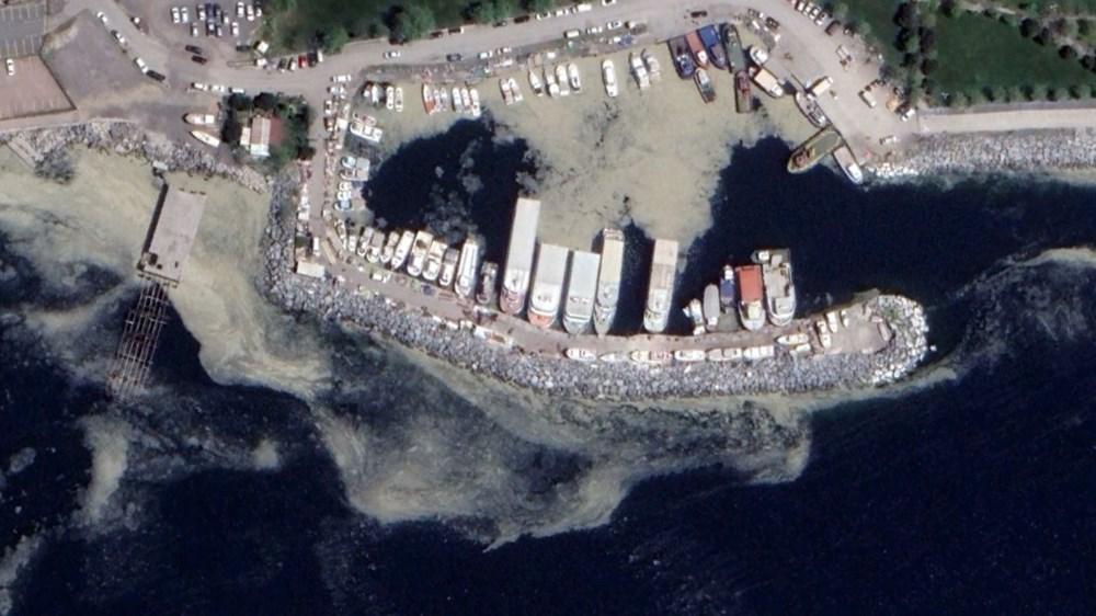İstanbul'daki müsilaj uzaydan görüntülendi - 4