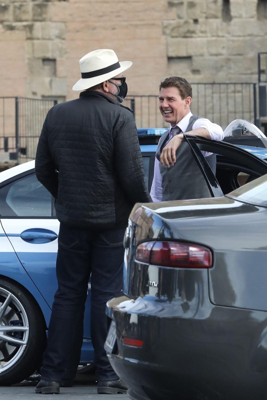 Tom Cruise'lu Görevimiz Tehlike 7 setinden yeni kareler - 9