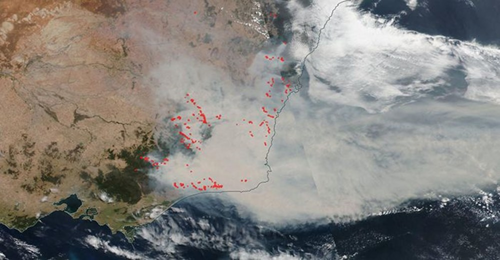 Devasa toz bulutu uzaydan görüntülendi (8 bin kilometre yol kat etti) - 43