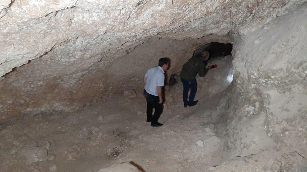 Adıyaman'da foseptik çukuru kazarken tünel buldular - 4