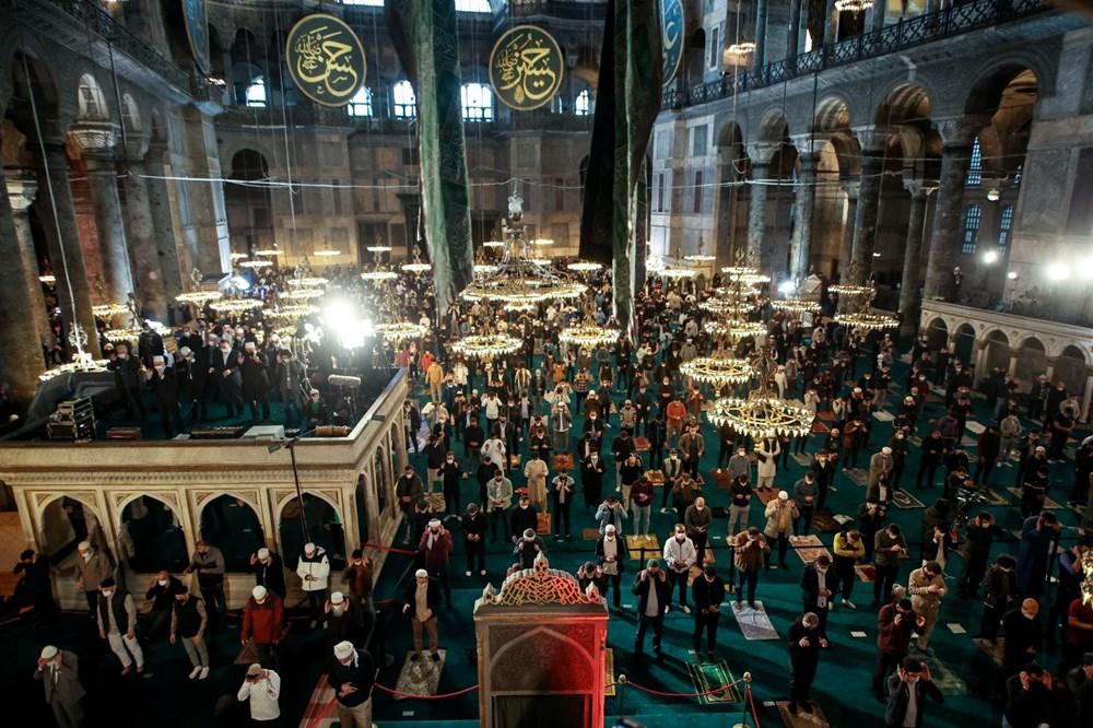 Ayasofya'da 87 yıl sonra ilk Ramazan Bayramı namazı kılındı - 14