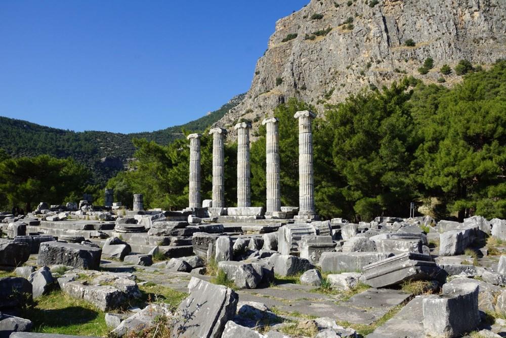 M.Ö. 4.yüzyılda kurulan ilk planlı şehir Priene - 5