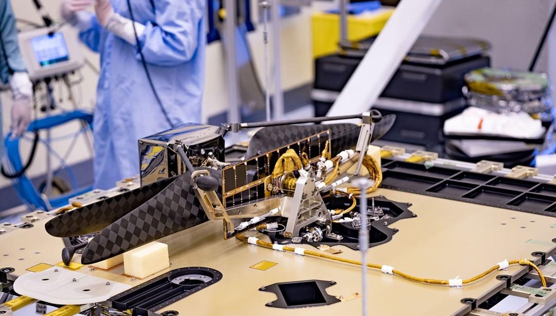 NASA'dan yeni adım: Mars'a helikopter gönderecek thumbnail