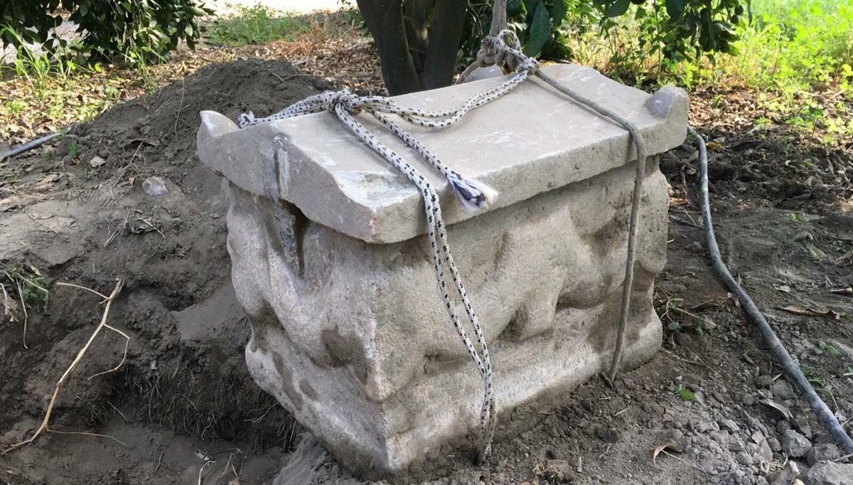 Roma döneminden lahdi 750 bin dolara satmak isterken yakalandılar