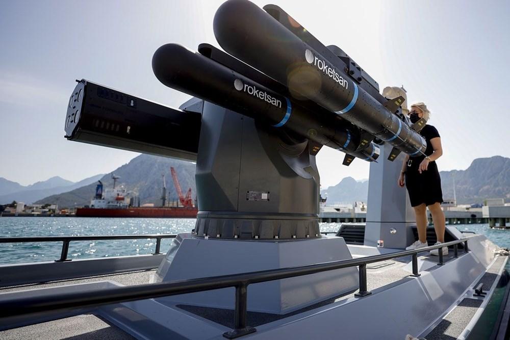 Türkiye'nin ilk silahlı insansız deniz aracı, füze atışlarına hazır - 2
