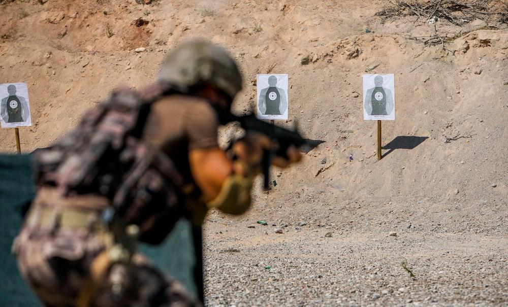 Özel Harekat'tan 35 derece sıcakta zorlu eğitim: Yerli silah 'Çılgın kız' dikkat çekti - 15
