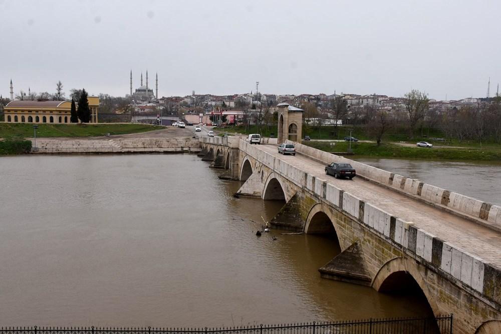 Tunca Nehri bir haftada 4 kat arttı: Sarı alarm verildi - 10