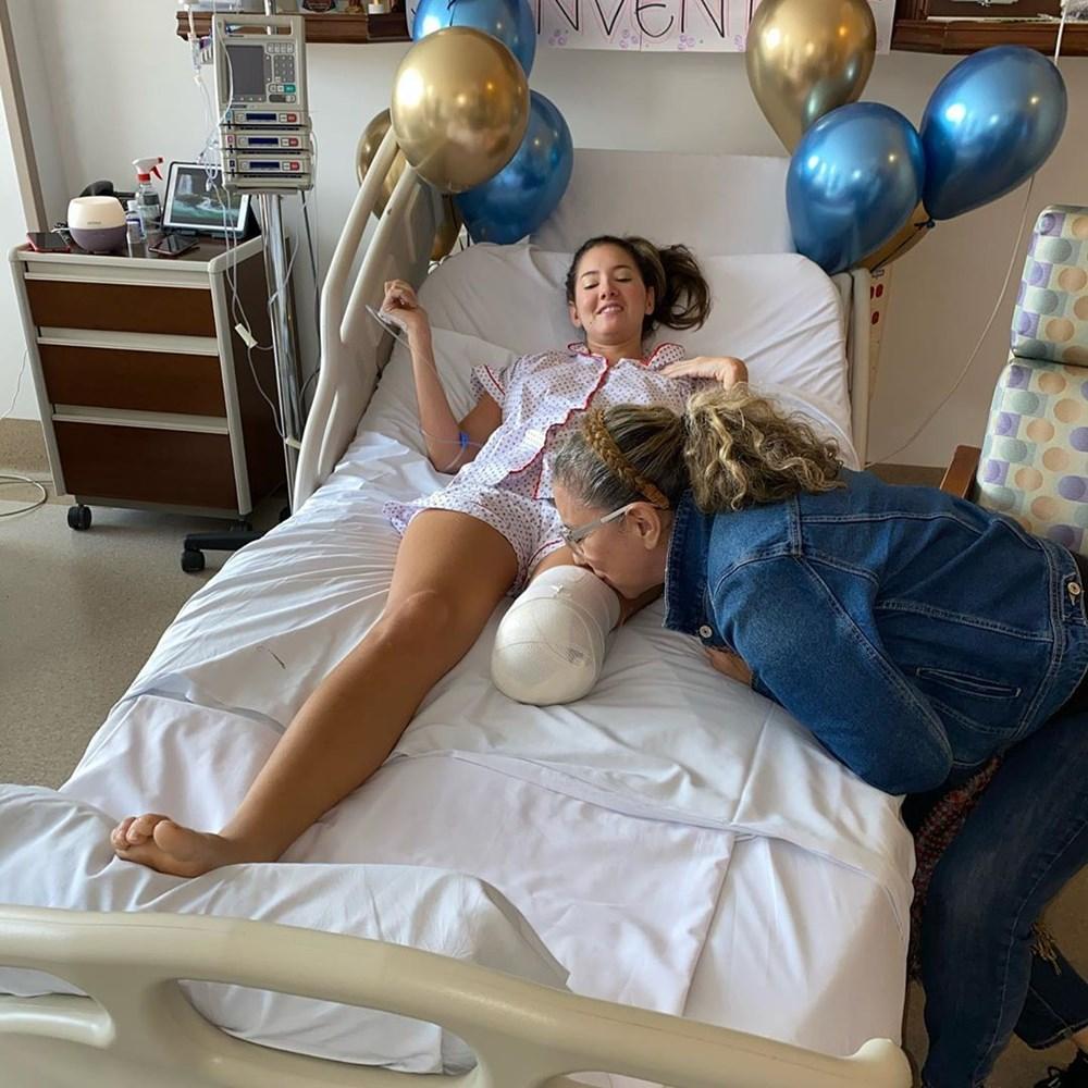 Eski Kolombiya Güzeli  Daniella Alvarez'in bacağı kesildi - 10