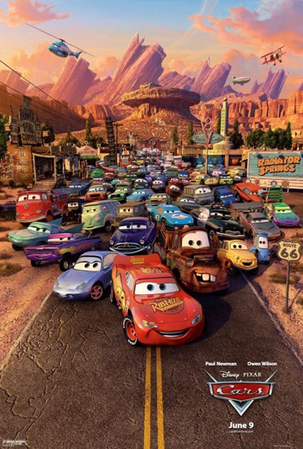En popüler animasyonlar (IMDb ağustos verileri) - 10