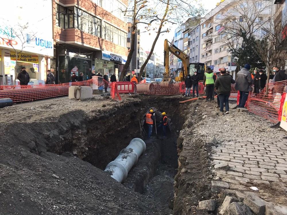 Trabzon'da alt yapı çalışmasında tarihi kalıntıya rastlandı - 5