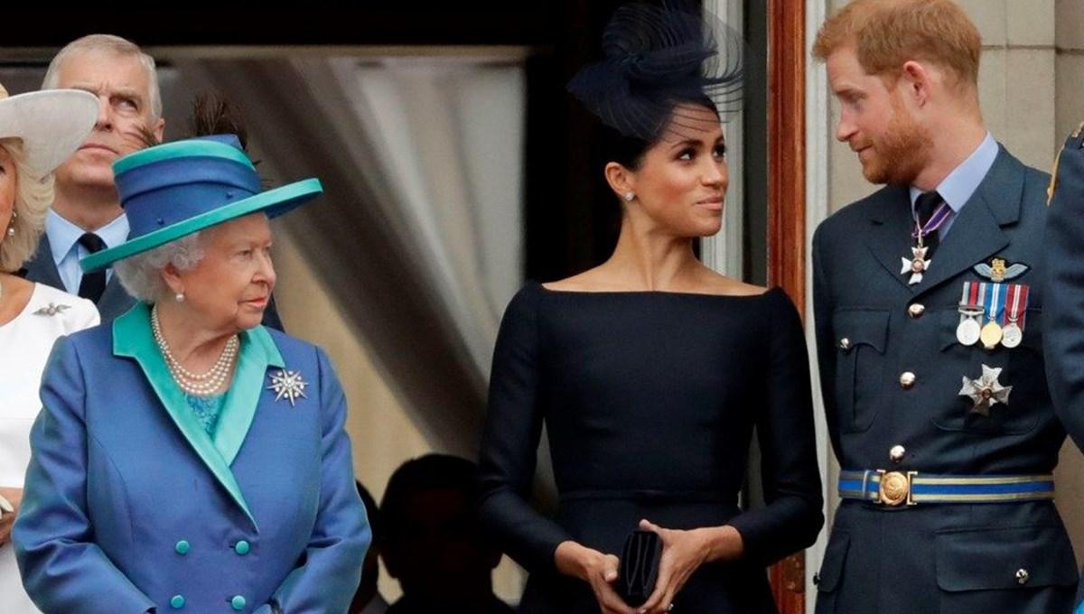 Meghan Markle ve Prens Harry'nin sözcüsü: Kraliçe desteklemese Lilibet ismini kullanmazlardı