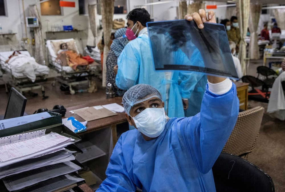 Hindistan: Ülkedeki yıkıcı Covid-19 salgını ile çifte mutasyona uğrayan corona virüs varyantı bağlantılı - 9