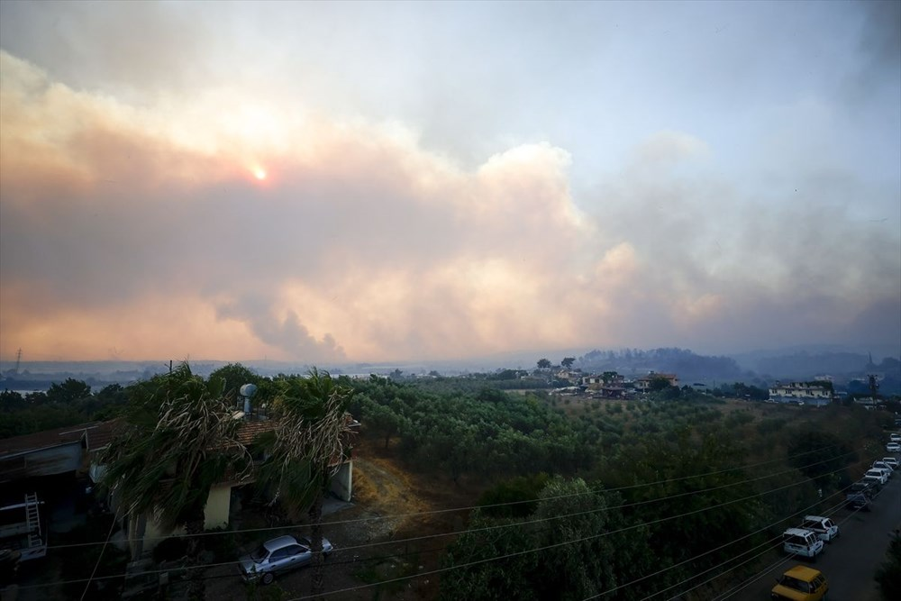 Antalya Manavgat'ta büyük yangın - 9