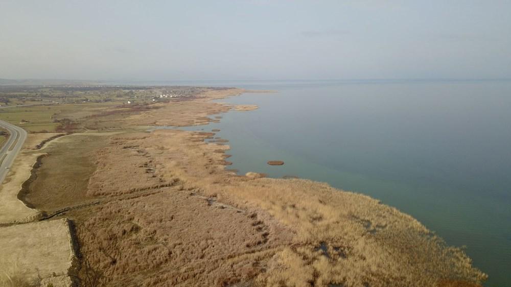 Beyşehir Gölü alarm veriyor: 50 metre çekildi - 8