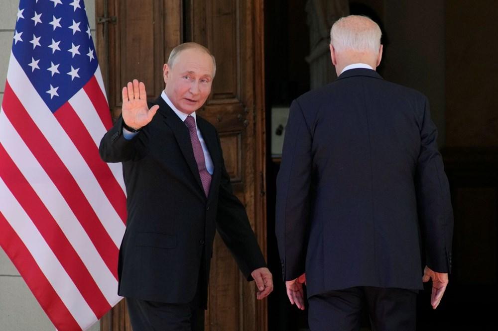 ABD Başkanı Biden ve Rus Devlet Başkanı Putin'in görüşmesi başladı: Zirveden kareler - 8