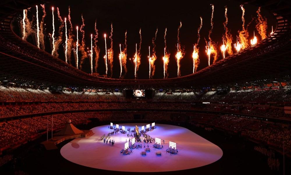 2020 Tokyo Olimpiyatları görkemli açılış töreniyle başladı - 60