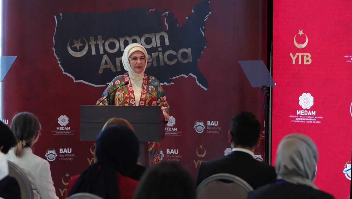 Osmanlı'nın Amerikası' belgeseli, ABD'de Emine Erdoğan'ın katılımıyla tanıtıldı