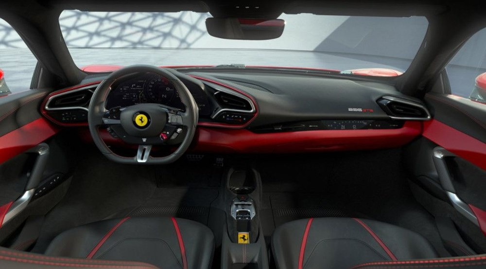 830 beygirlik hibrit Ferrari 296 GTB tanıtıldı - 7