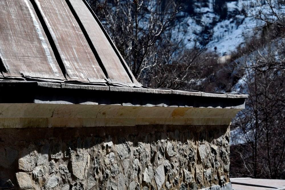 Gümüşhane'deki 800 yıllık ecdat yadigarı camiye eksik restorasyon iddiası - 5