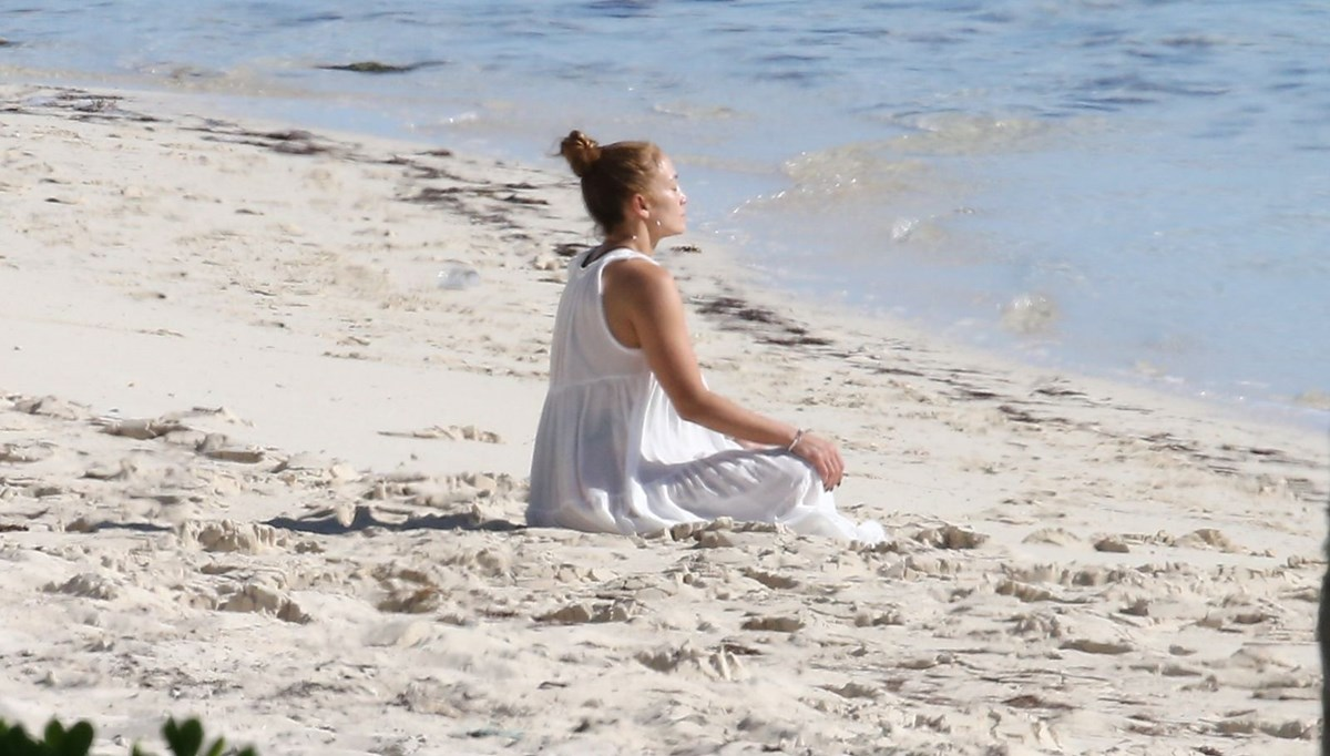 Jennifer Lopez'in Karayipler tatili