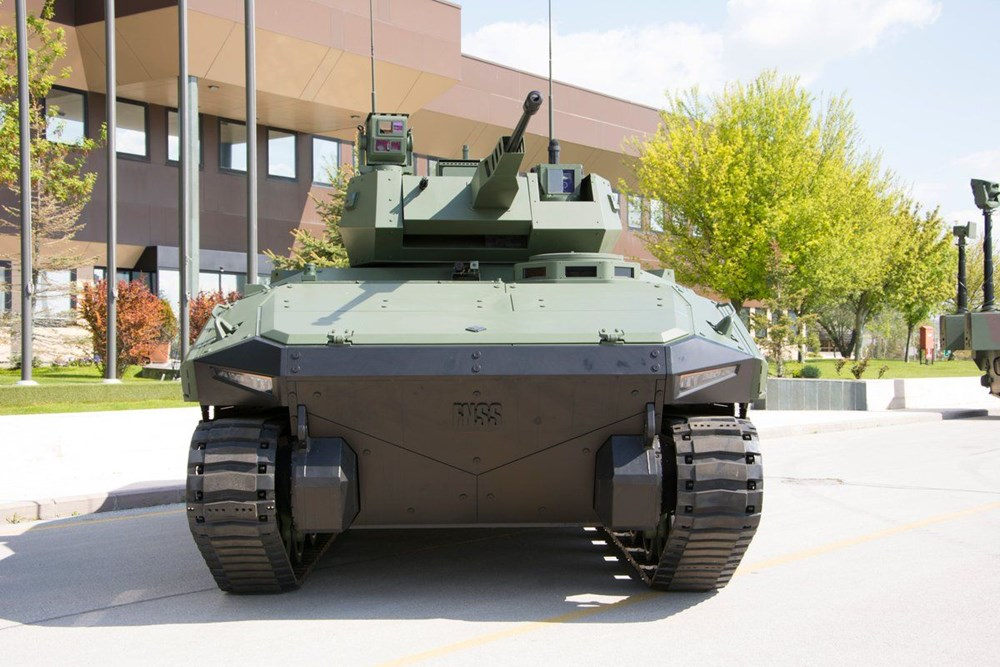 Dijital birliğin robot askeri Barkan göreve hazırlanıyor (Türkiye'nin yeni nesil yerli silahları) - 194