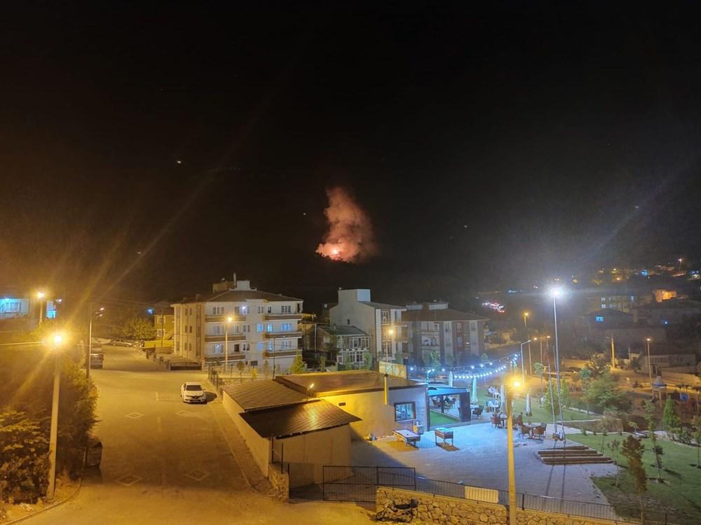 Antalya, Adana, Mersin, Aydın, Muğla, Osmaniye, Kayseri ve Manisa'da orman yangınları - 35