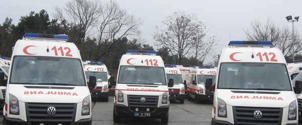 112 ambulans daha çabuk ulaşacak