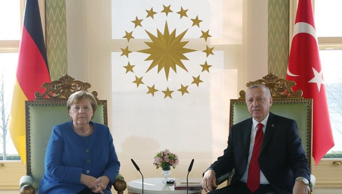 SON DAKİKA HABERİ: Cumhurbaşkanı Erdoğan, Merkel'le telefondagörüştü