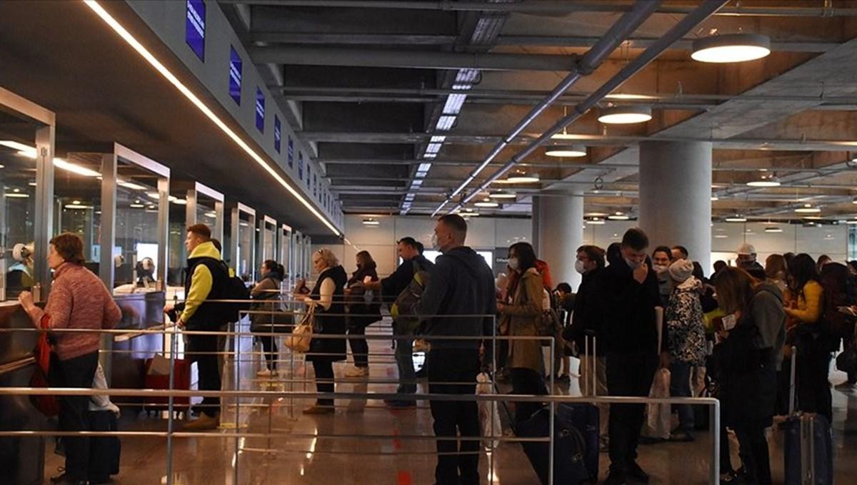 Dünyada turist sayısı yüzde 83 azaldı