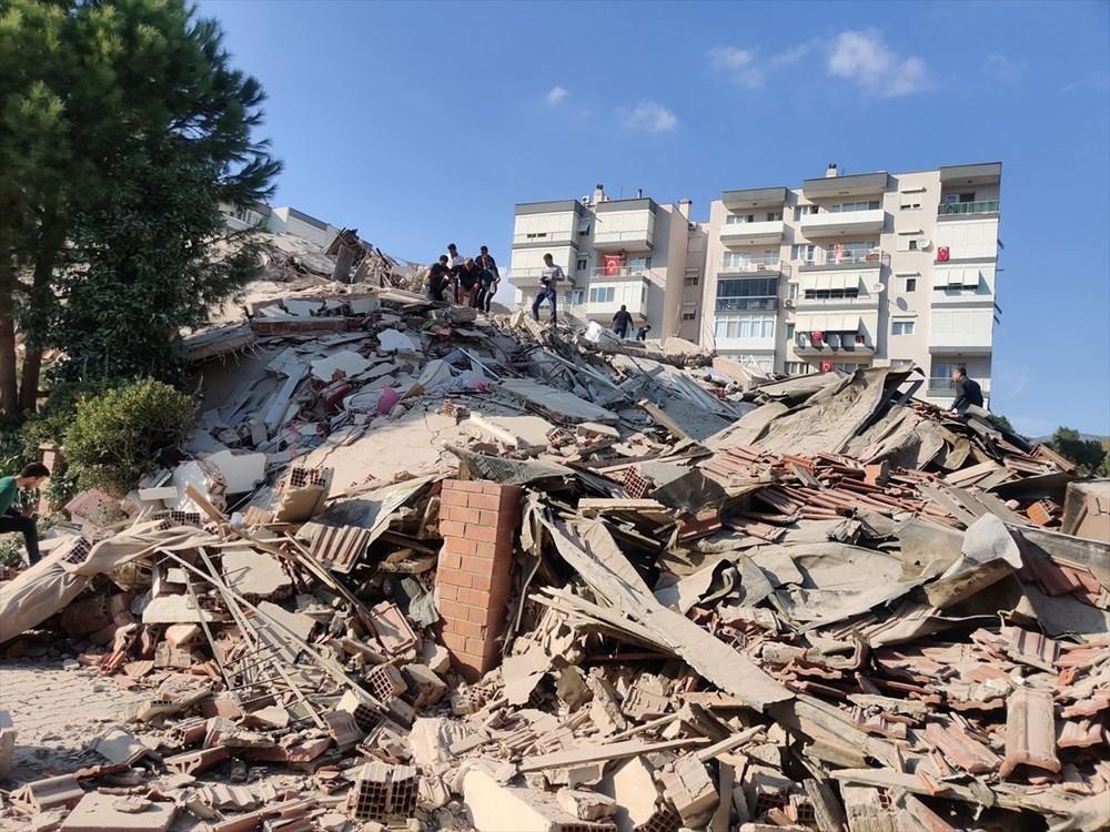 Son Deprem: İzmir'deki 6.6'lık depremden kareler - 10