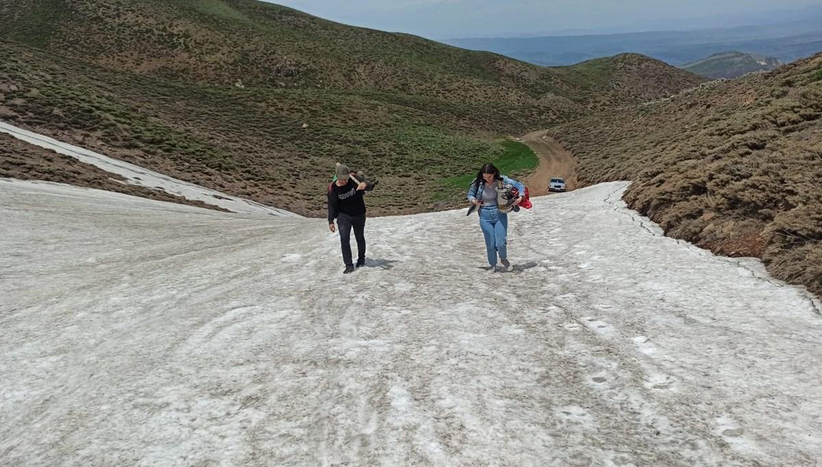 Huzur sağlandı, Gerindal Krater Gölü'ne ilgi arttı