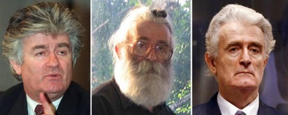 Radovan Karaciç yakalandığında tanınmamak için saç ve sakal uzattığı görülmüştü.