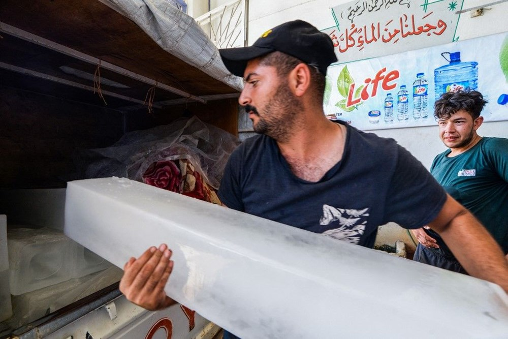 Temperature exceeded 50 degrees in the shade in Iraq: Ice demand exploded - 8