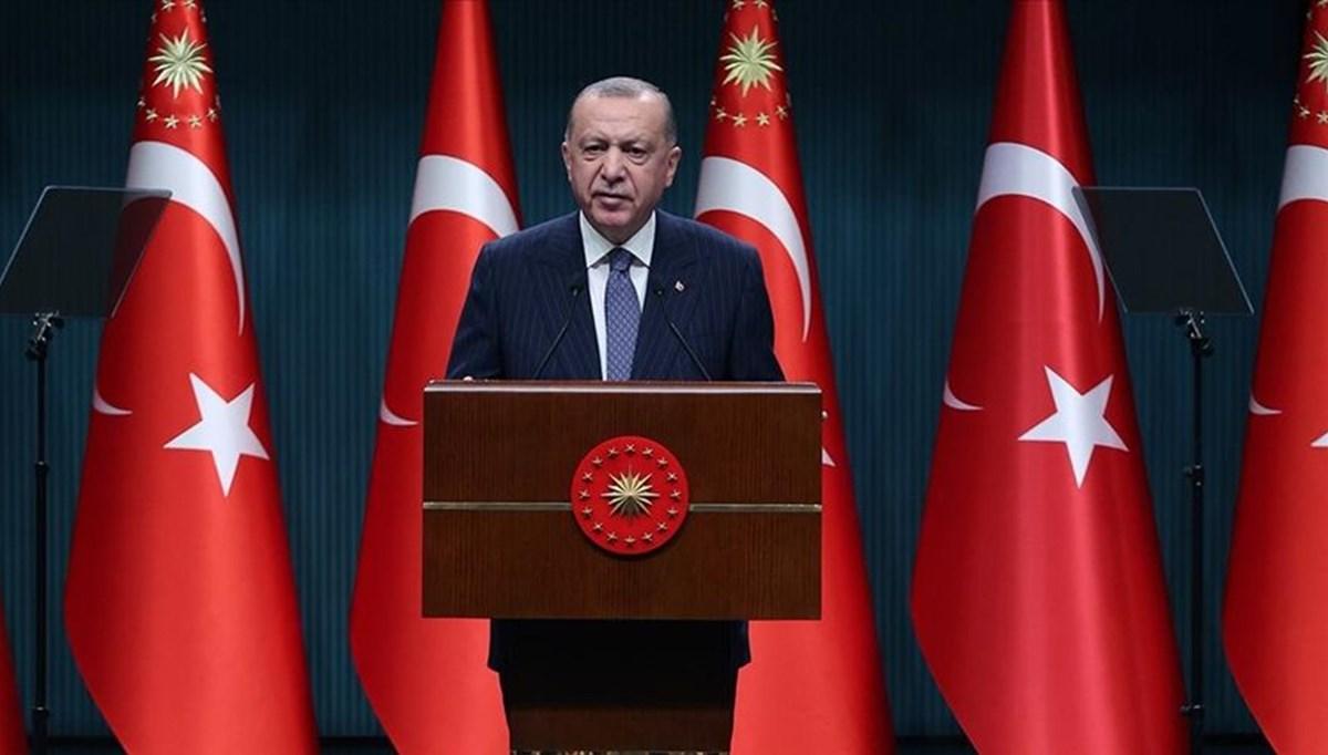 Cumhurbaşkanı Erdoğan: Ülkemize dönük bühtandan geri dönüldü