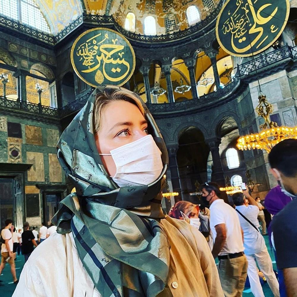 Amber Heard'dan Türkiye'ye veda paylaşımı: Hoşça kal demek çok zor - 2