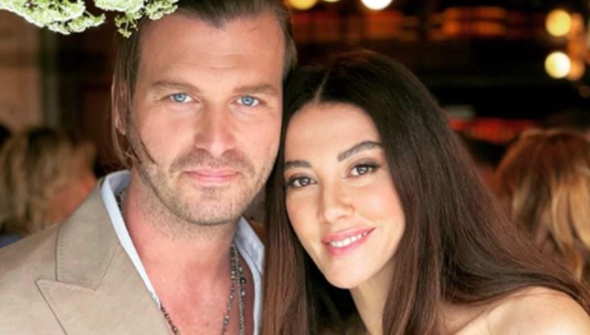 Kıvanç Tatlıtuğ ve Başak Dizer, yönetmen Uluç Bayraktar'ın düğününe katıldı