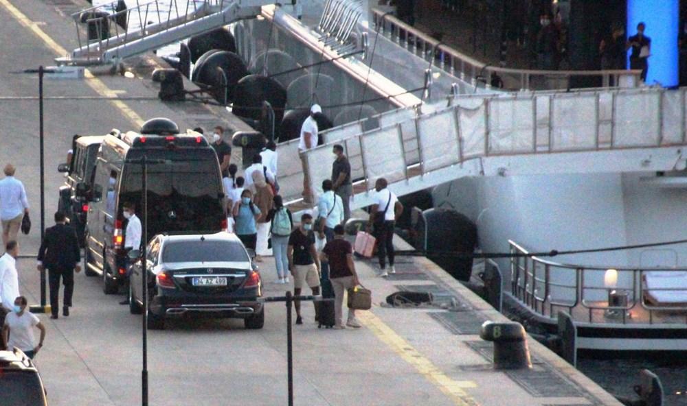 Katar kraliyet ailesi Bodrum'da: 2 kamyon eşya, 500 valiz - 6