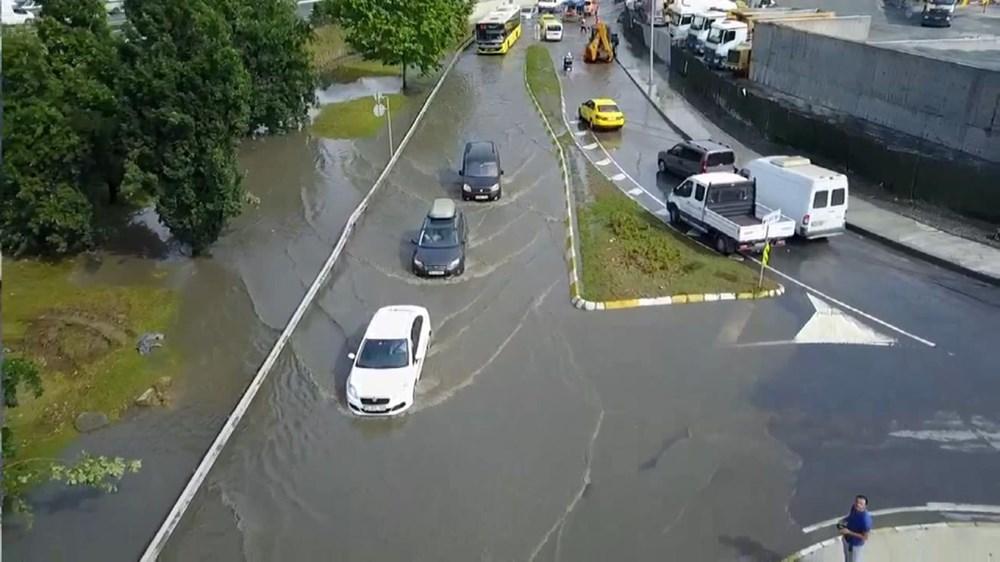 İstanbul'da şiddetli yağış ve dolu - 14
