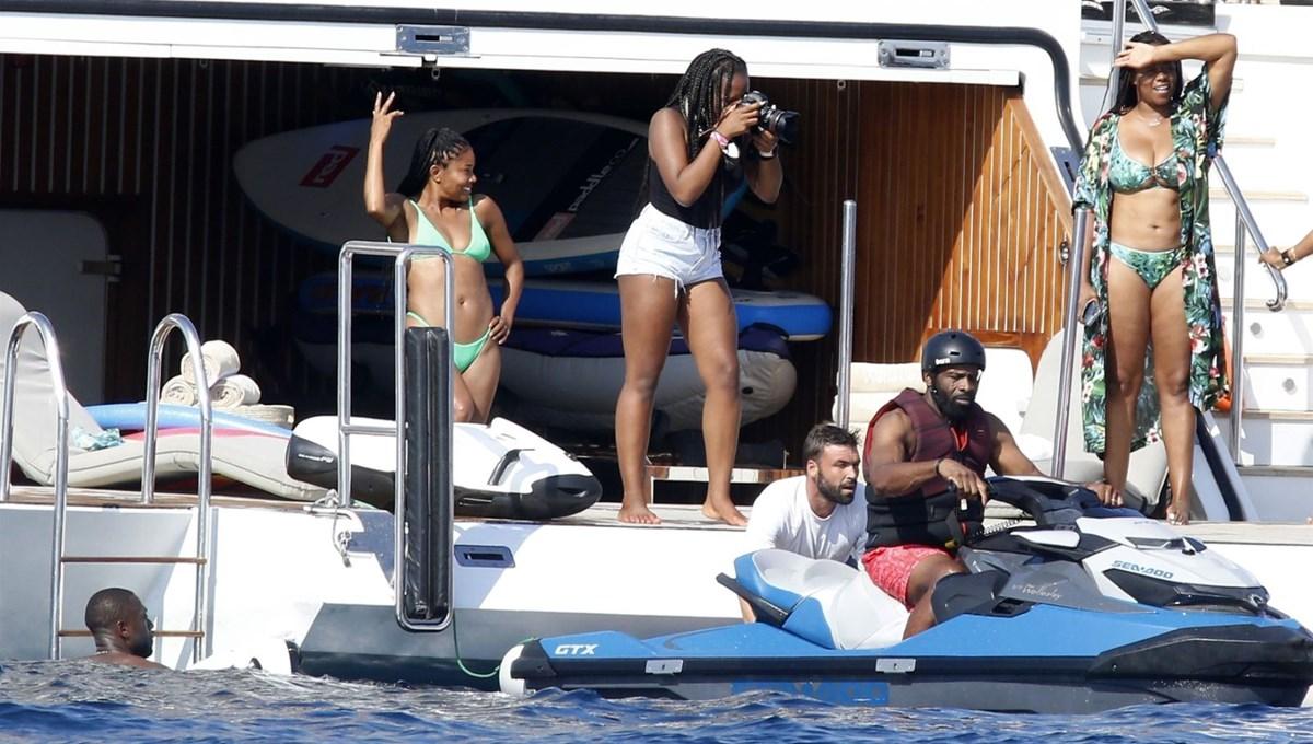 Gabrielle Union ve Dwayne Wade İtalya tatilinde