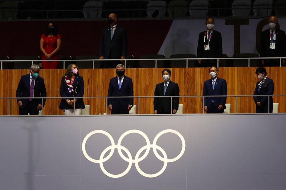 2020 Tokyo Olimpiyatları görkemli açılış töreniyle başladı - 13